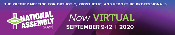 AOPA National Assembly - Webinar: Muscle Tone and Hypertonus • Assessment & Relevance to Ankle-Foot Orthotic Management @ AOPA Virtual National Assembly